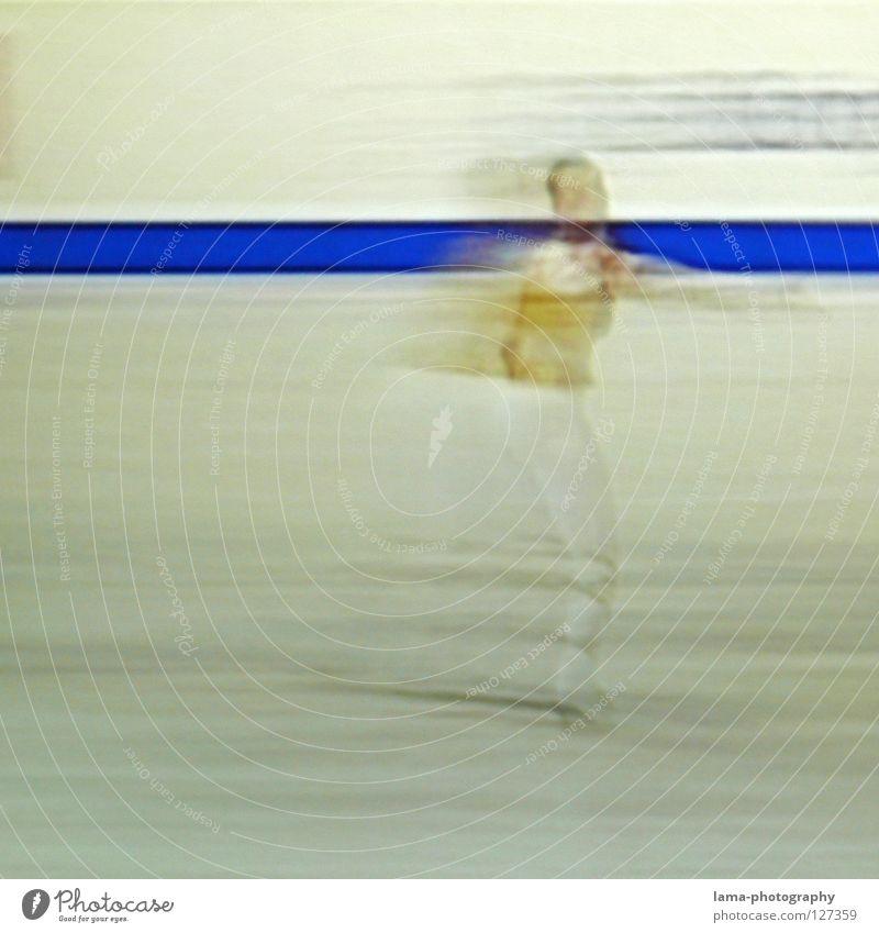 Final Slide [PIXELS IN MOTION] Mensch weiß schön schwarz Bewegung Kunst Eis Tanzen gold elegant laufen Geschwindigkeit Streifen fahren Symbole & Metaphern Rasen