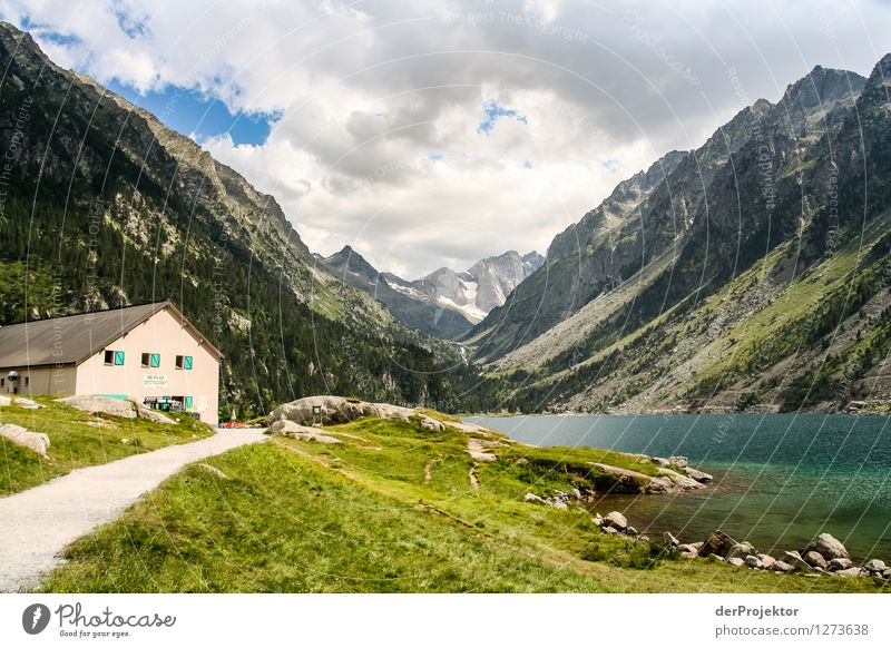 Pyrenäen-Wanderweg 17 Ferien & Urlaub & Reisen Tourismus Ausflug Abenteuer Ferne Freiheit Camping Berge u. Gebirge wandern Umwelt Natur Landschaft Pflanze
