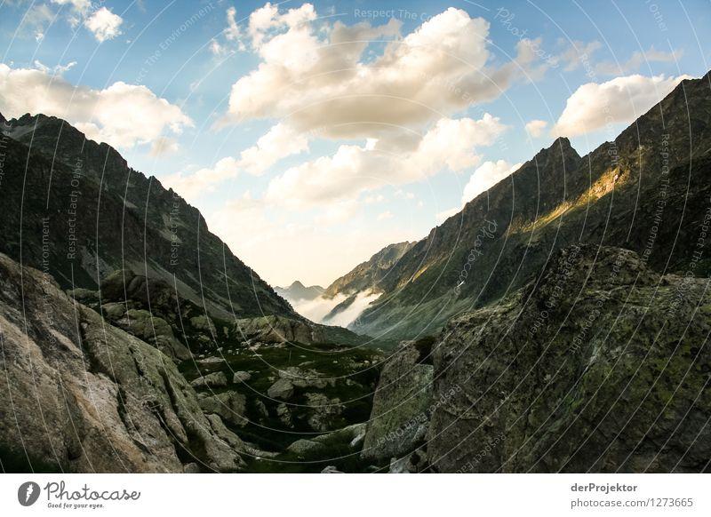 Pyrenäen-Wanderweg 6 Natur Ferien & Urlaub & Reisen Pflanze Sommer Landschaft Wolken Freude Tier Ferne Berge u. Gebirge Umwelt Gefühle Freiheit Felsen Tourismus