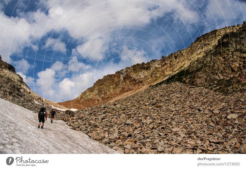 Pyrenäen-Wanderweg 19 Natur Ferien & Urlaub & Reisen Pflanze Sommer Landschaft Tier Ferne Berge u. Gebirge Umwelt Gefühle Freiheit Felsen Tourismus Kraft