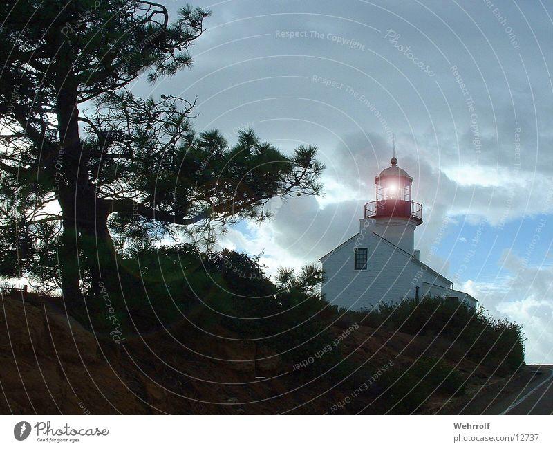 Leuchtturm Licht Kalifornien Architektur Natur USA San Diego County Turm Lighthouse