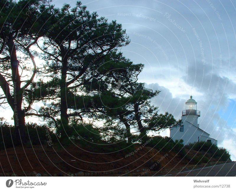 Leuchtturm 2 Gebäude Architektur USA San Diego County Natur