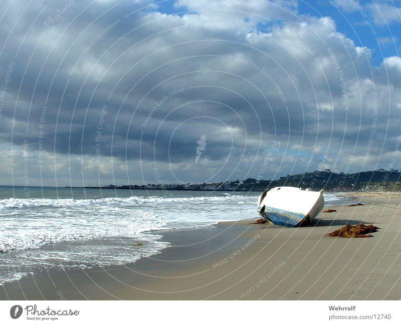 Strandgut Wasser Wasserfahrzeug Wellen Segelboot Kalifornien Strandgut