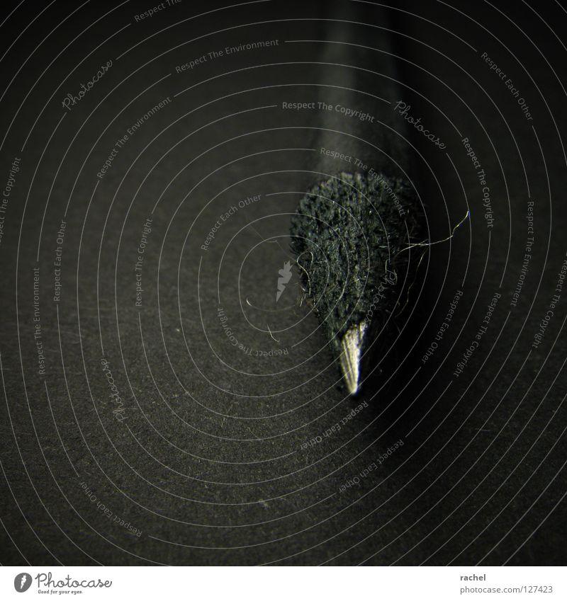 RAL 9011 | Noir graphite Schreibtisch Handwerk Kunst Gemälde Schreibwaren Schreibstift Holz zeichnen schreiben dreckig dunkel neu Spitze schwarz Kreativität