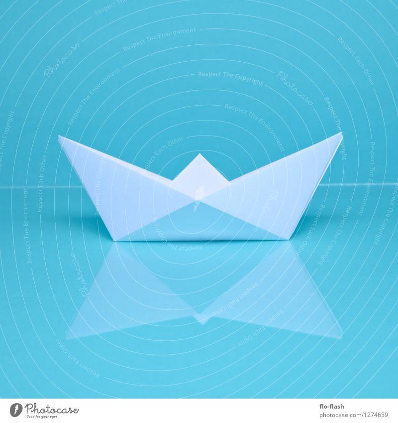 OH SHIP I // ORIGAMI elegant Stil Design Freizeit & Hobby Ferien & Urlaub & Reisen Freiheit Sommer Sommerurlaub Meer Kapitän Ausstellung Skulptur Fischerboot