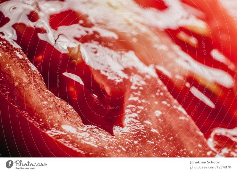 Die Tomate Lebensmittel Gemüse Ernährung Gesunde Ernährung Speise Essen Foodfotografie Bioprodukte Vegetarische Ernährung Slowfood Fingerfood ästhetisch rot nah