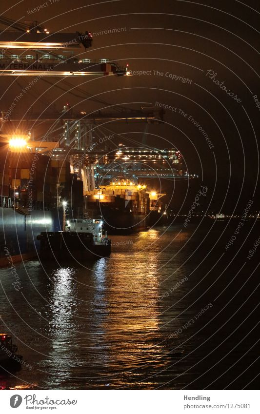 Kran Reihe Ferne Arbeit & Erwerbstätigkeit Technik & Technologie Zukunft Industrie Güterverkehr & Logistik Spanien Hafen Wissenschaften Wirtschaft