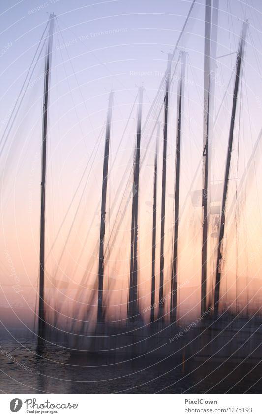 mediterrane Stimmung Ferien & Urlaub & Reisen schön Erholung Meer Landschaft Strand Küste Stil Lifestyle Kunst orange Design träumen Tourismus ästhetisch
