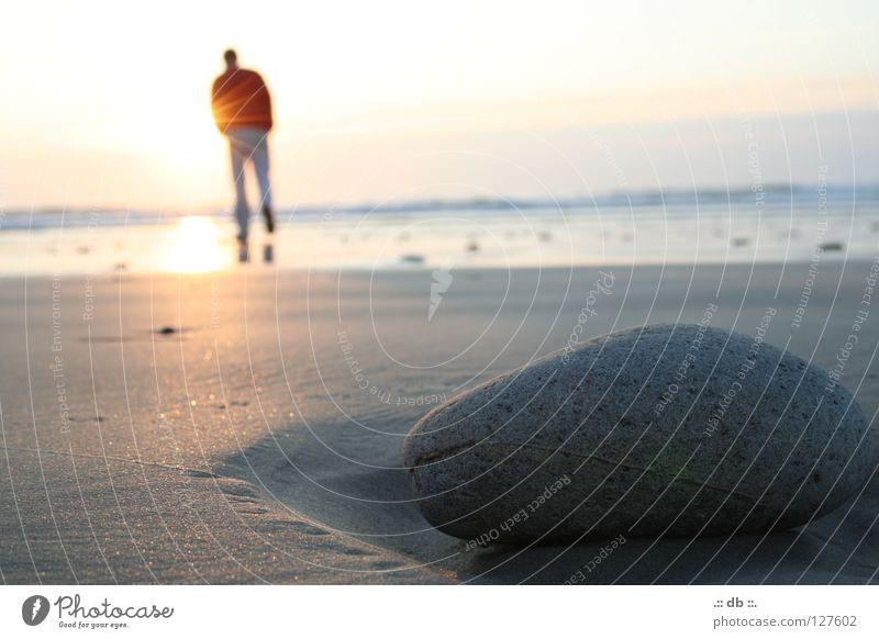 .:: LIEGENgeblieben ::. Mensch Himmel Sonne Meer Strand Stein Sand Frankreich