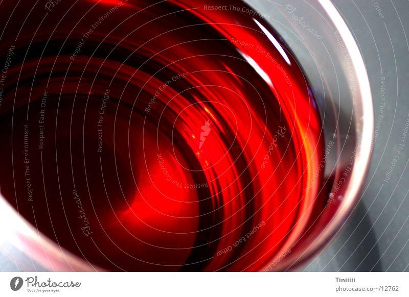 Kirschensaft Saft rot Getränk Alkohol Glas Makroaufnahme Flüssigkeit Wein