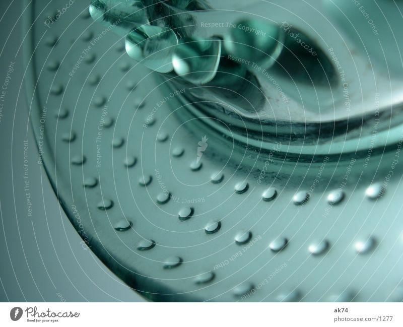 Zitronenpresse Glas Makroaufnahme Zitruspresse Manuelles Küchengerät Menschenleer Innenaufnahme