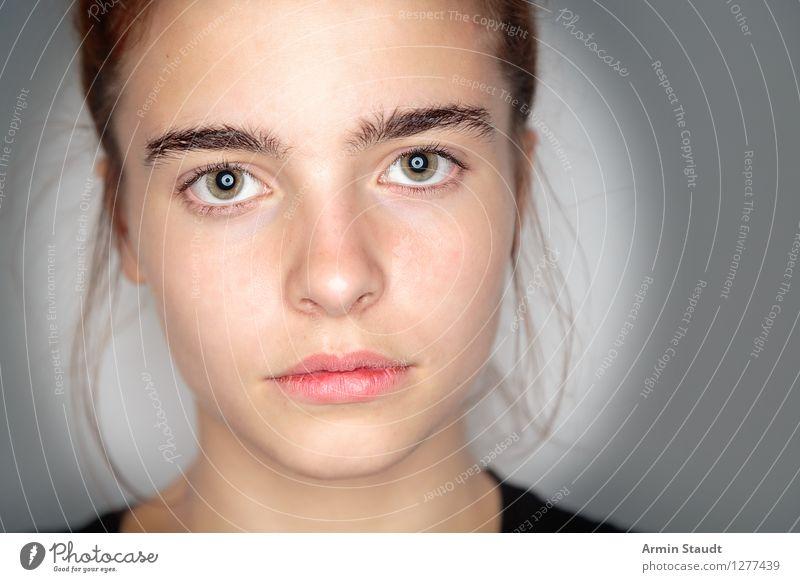 Hm Lifestyle schön Gesicht Mensch feminin Junge Frau Jugendliche Erwachsene Kopf 1 13-18 Jahre Denken einzigartig nerdig rebellisch Gefühle selbstbewußt