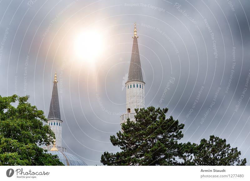 Morgenland Sonne Baum Winter Architektur Herbst Berlin Religion & Glaube Lifestyle außergewöhnlich Stimmung Design Tourismus leuchten ästhetisch Kirche