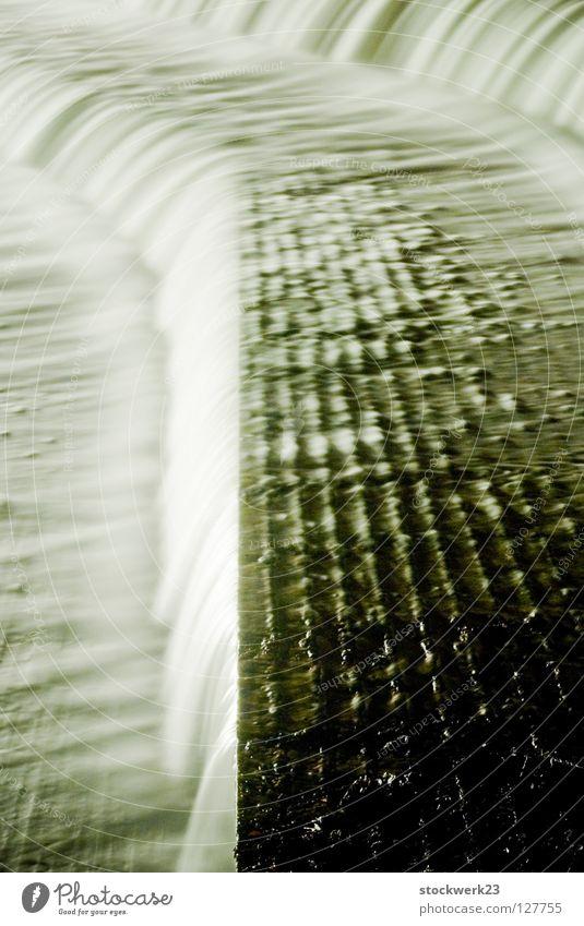 staustufe I Wasser Winter Architektur Fluss Wasserfall Abwasserkanal Staustufe Fluss Lech
