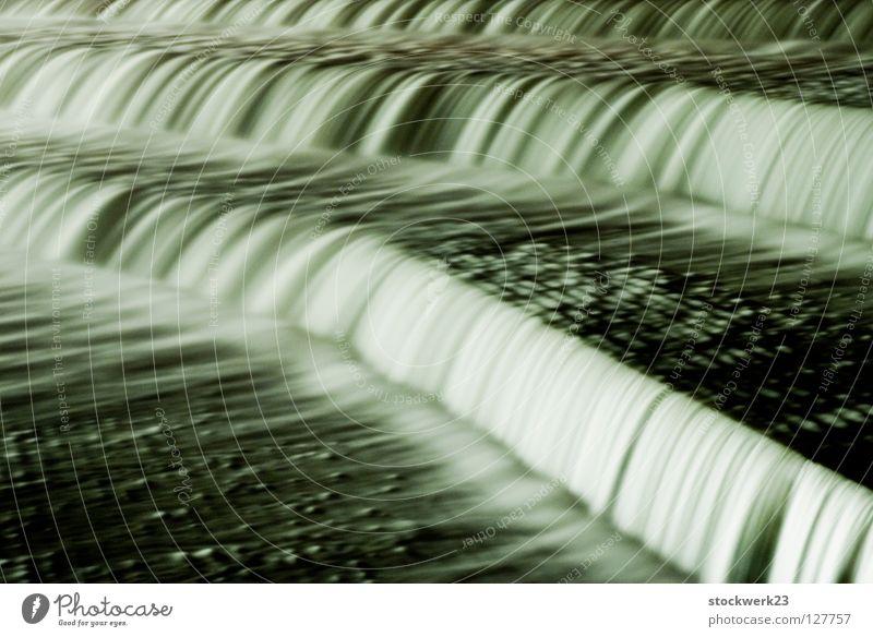 staustufe II Wasser Winter Architektur Fluss Wasserfall Abwasserkanal Staustufe Fluss Lech