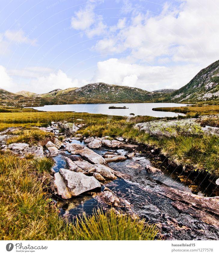 AWAY in Norway Natur Ferien & Urlaub & Reisen Erholung Landschaft ruhig Freude Berge u. Gebirge Leben Glück Gesundheit Freiheit Schwimmen & Baden Felsen