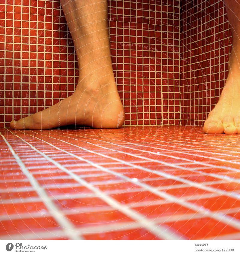 Antizipation Bad rot Quadrat Sprunggelenk Haushalt Fliesen u. Kacheln Ecke Cubismus Fuß OSG Beginn