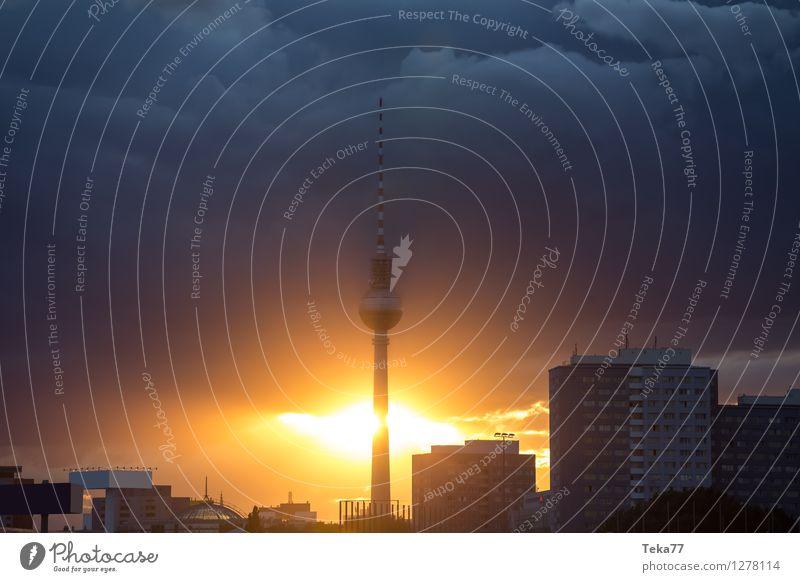 Berlinerabend 3 Ferien & Urlaub & Reisen Sommer Fernsehen Stadt Hauptstadt Stadtzentrum Skyline Platz Sehenswürdigkeit Wahrzeichen Tower (Luftfahrt) Abenteuer