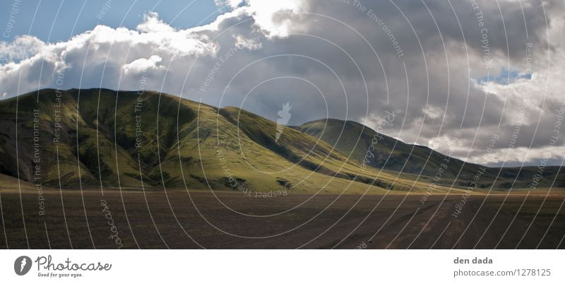 Island Natur Ferien & Urlaub & Reisen Einsamkeit Ferne kalt Berge u. Gebirge Wiese Freiheit außergewöhnlich Felsen Tourismus Idylle wandern Insel Ausflug
