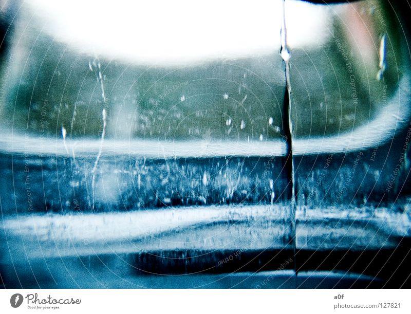Ice Schnellzug gefroren Licht durchsichtig Jahreszeiten Wasser Eis Reflexion & Spiegelung blau Glas Flasche
