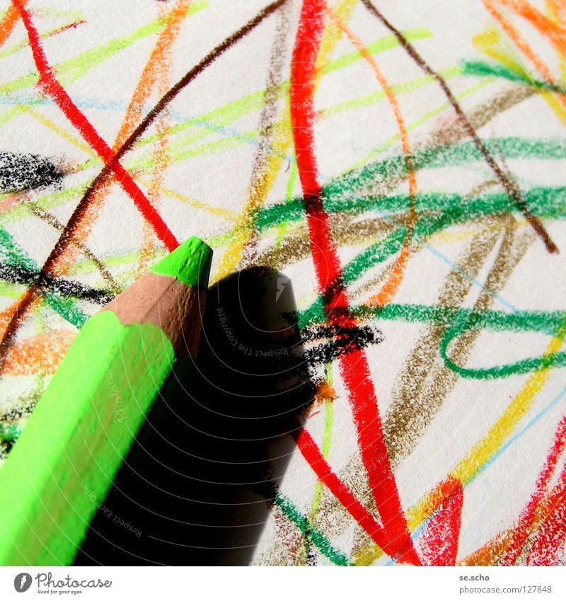 Naive Kunst II Farbe Kindheit Papier Kultur einfach Gemälde Schreibstift kindlich