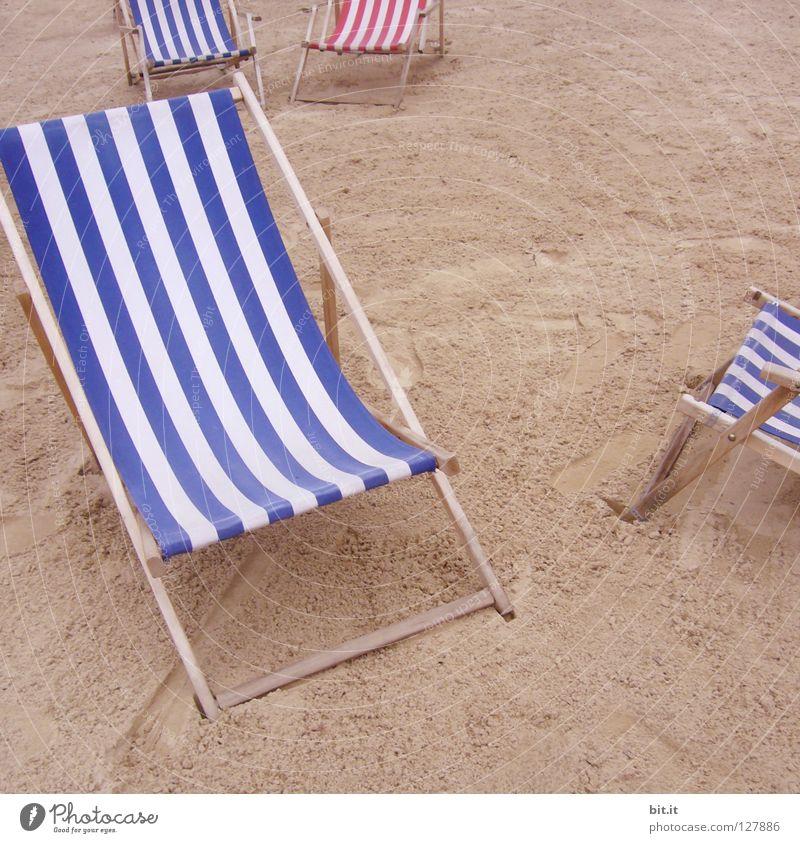RUHEPLATZ V Natur blau Sommer Ferien & Urlaub & Reisen Strand Meer ruhig Erholung Spielen Freiheit Stil Sand träumen Küste See braun