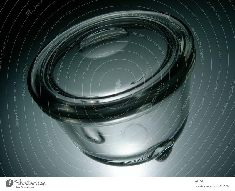Glasgefäß grau kochen & garen Küche Eistich