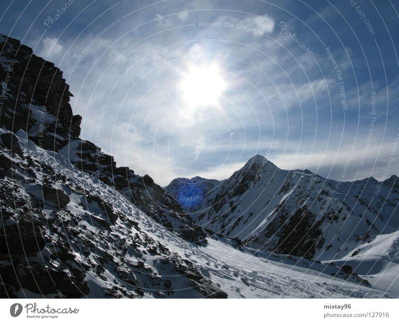 rocky mountains :) Natur schön Himmel Sonne Freude Winter Berge u. Gebirge Freiheit Alpen