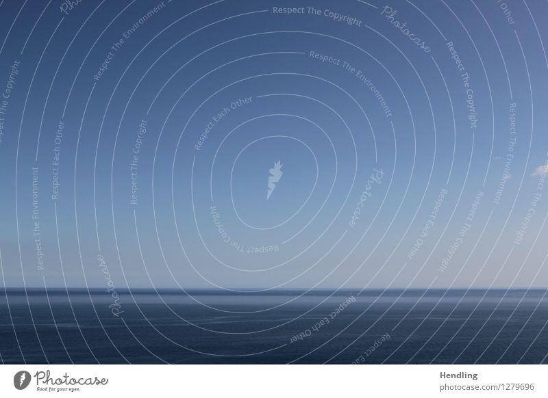 Mittelmeer II Natur blau Wasser Meer ruhig Umwelt Horizont Italien horizontal