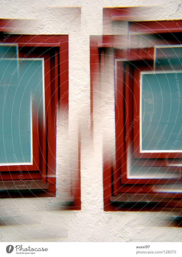 Prismatik Fenster Surrealismus Doppelbelichtung