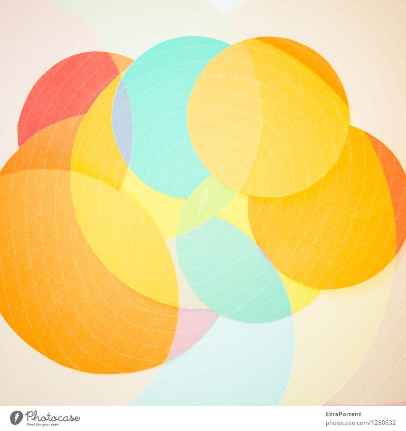 bubble`s blau Farbe weiß rot gelb Stil Hintergrundbild Spielen Linie hell Design orange frisch elegant Fröhlichkeit ästhetisch
