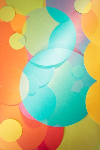 bubbles elegant Stil Design Spielen Basteln Kunst Kunstwerk Gemälde Zeichen Kugel Netzwerk ästhetisch frisch trendy rund wild blau mehrfarbig gelb grün orange