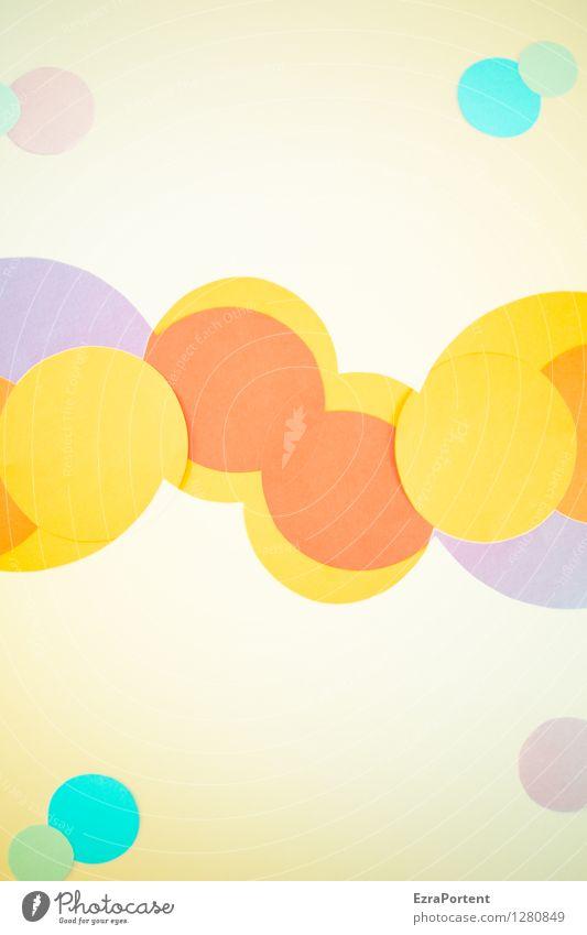 bubble`s elegant Stil Design Freizeit & Hobby Spielen Basteln Zeichen ästhetisch hell rund blau mehrfarbig gelb violett orange türkis weiß Farbe