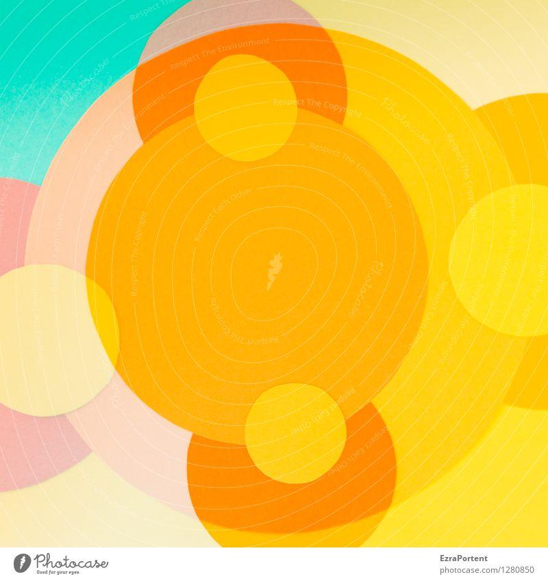 bubbles elegant Stil Design Freude Basteln Zeichen Kugel Linie ästhetisch hell rund blau mehrfarbig gelb rot türkis Farbe Werbung Zusammenhalt