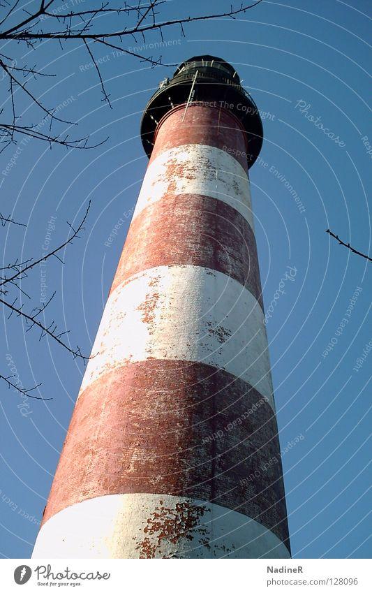 Sublimeness Himmel USA Streifen Denkmal Wahrzeichen Leuchtturm Blauer Himmel Maryland