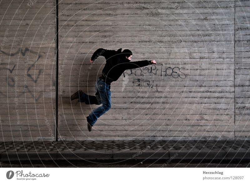 The Wall and Superman böse retten Rettung Geschwindigkeit stark Ausdauer schön Kraft fliegen gut Macht