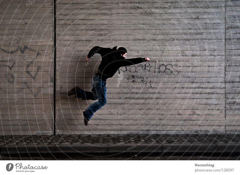 The Wall and Superman schön Kraft fliegen Geschwindigkeit Macht gut stark böse Rettung retten Ausdauer