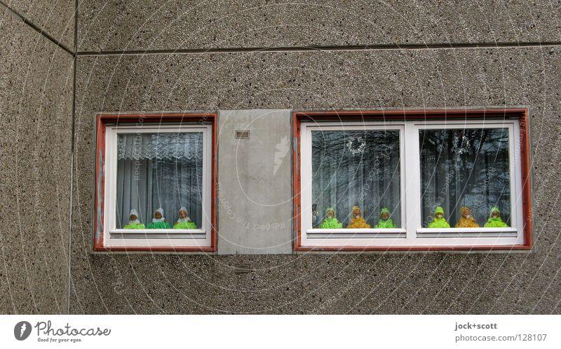 Baby Love Panorama Ferne Fenster gelb lustig Gebäude klein 2 Fassade träumen Häusliches Leben Dekoration & Verzierung Glas Kindheit Beton Ecke Idee