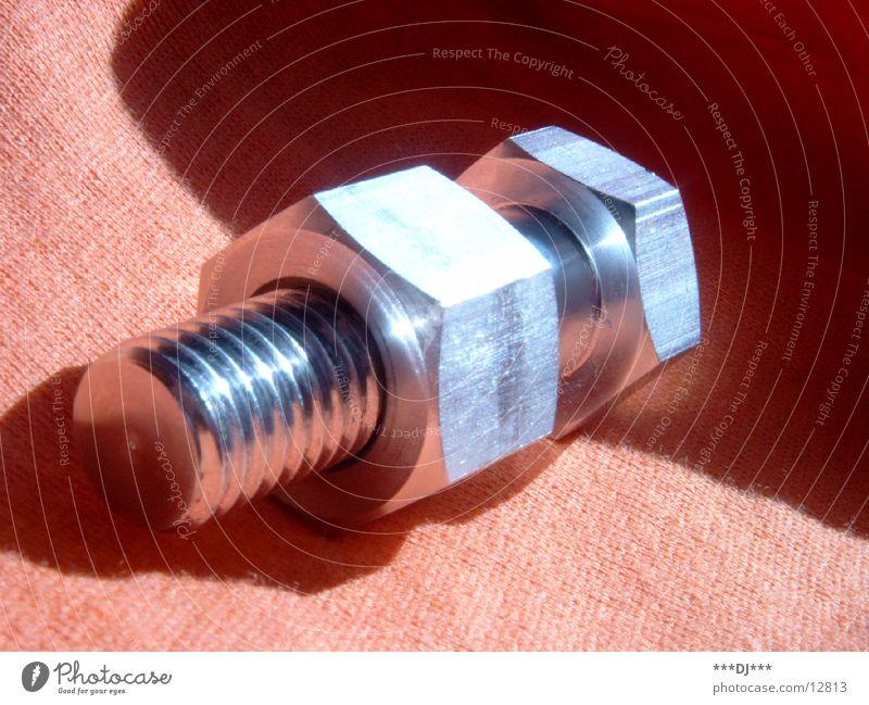 Schraube Dinge Handwerk silber Schraube Befestigung