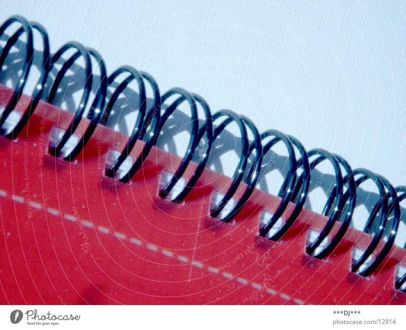 Blockspirale Blatt Dinge Spirale Bildung