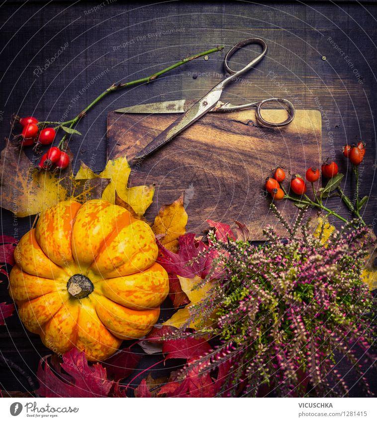 Herbst Dekoration basteln Gemüse Stil Design Freizeit & Hobby Haus Garten Innenarchitektur Dekoration & Verzierung Tisch Feste & Feiern Erntedankfest Halloween