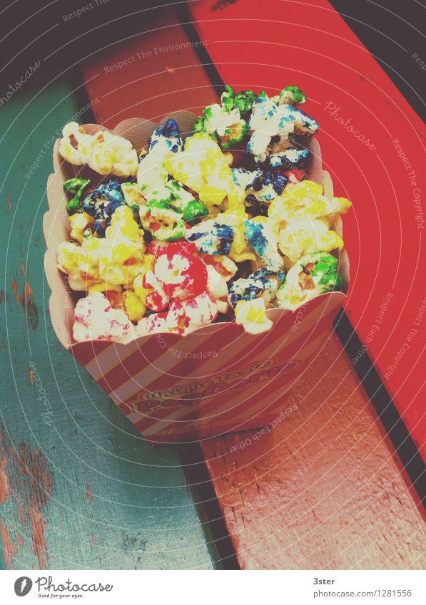 Colors of Popcorn Leben Kunst Lebensmittel Lebensfreude süß Süßwaren Popkorn Freude Gefühle