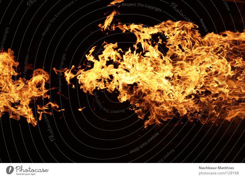 fire rot schwarz Brand Feuer heiß