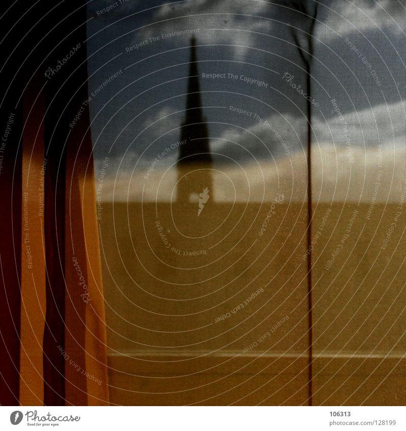 KULTURELLE AUTONOMIE Religion & Glaube Kirche Europa Macht Turm Niveau Schutz historisch Möbel verstecken Vorhang Gardine malerisch Politik & Staat Selbstständigkeit trüb