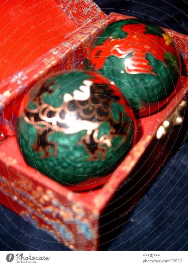 Kugeln Dinge China Wohlgefühl Massage Klang beruhigend