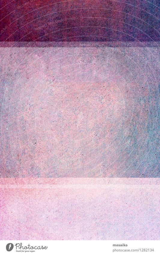 violetter abstrakter Hintergrund Stil Design schön Dekoration & Verzierung Kunst Papier Stein Streifen bauen hell modern retro rosa Farbe purpur antik