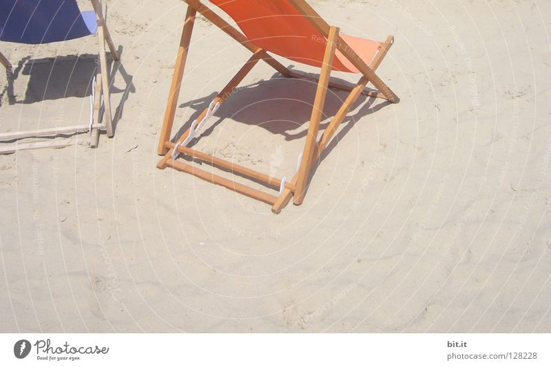 ENTSPANNUNG Natur blau Sommer Ferien & Urlaub & Reisen Strand Meer ruhig Erholung Freiheit Stil Sand träumen Küste See braun 2