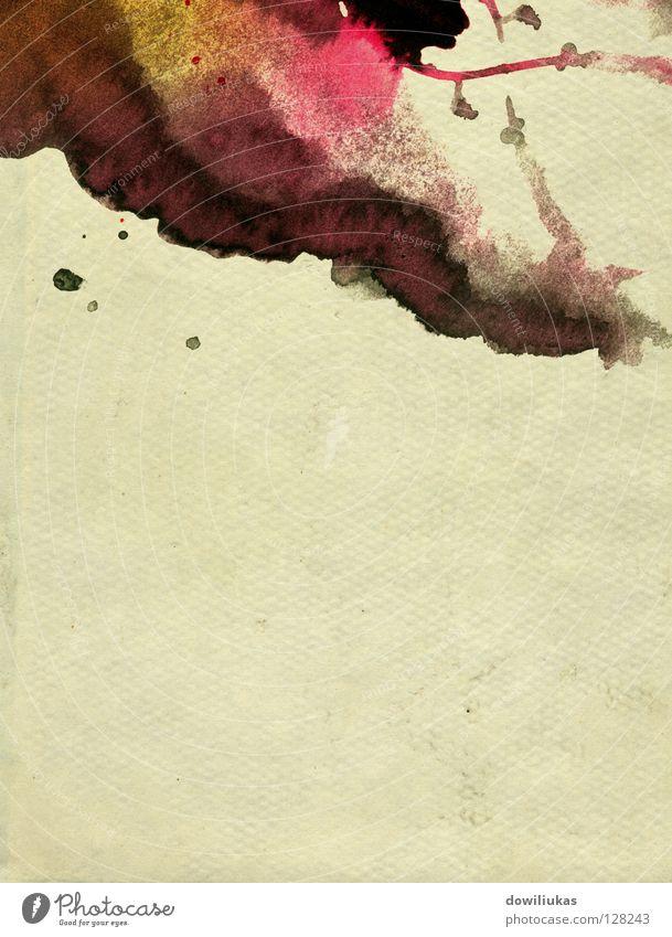 Paper background Kunst Hintergrundbild Grafik u. Illustration Handwerk spritzen liquide Grunge Kunsthandwerk Blotting