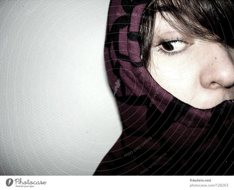 Angst vor dem Ungewissen? ruhig Gesicht Gefühle Denken Angst Neugier bleich Panik Schüchternheit ungewiss unruhig aufreißen Psychische Störung Nasenspitze