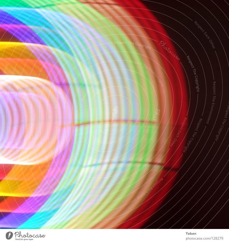 Colorrings grün rot gelb Farbe orange Kreis Dekoration & Verzierung obskur türkis Regenbogen Rauschmittel abstrakt LSD verschoben Verschiebung